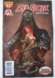 Red Sonja Doom of the Gods #2 Cover C